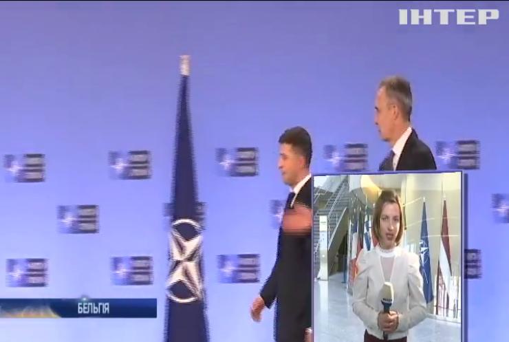 Україна зберігає курс на ЄС та НАТО - Володимир Зеленський
