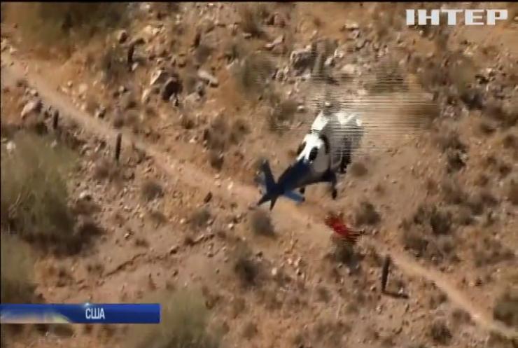 """У США травмовану бабусю """"закружили"""" на гелікоптері"""