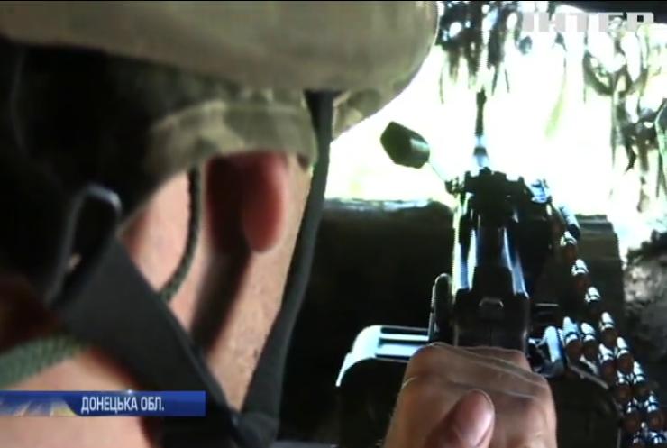 Військові облаштовують передові позиції на Донбасі