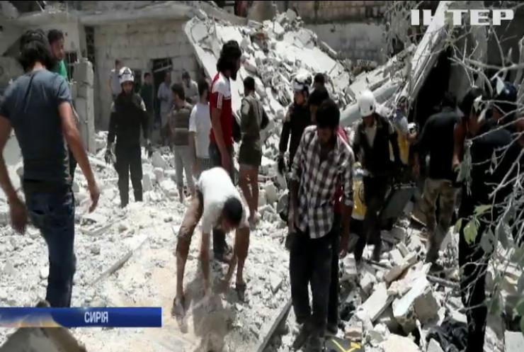 Росія завдала удару по мирному населенню в Сирії