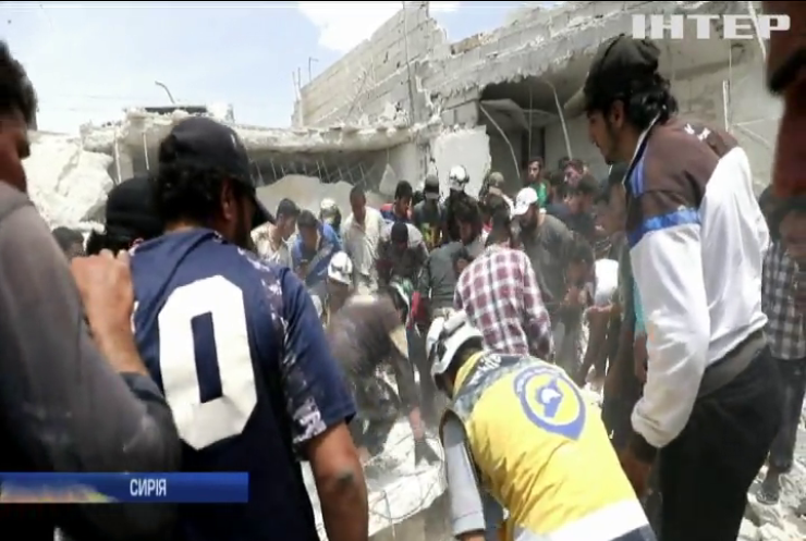Унаслідок ударів російських літаків у Сирії загинули мирні жителі