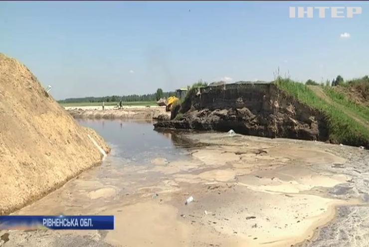 Село на Рівненщині опинилось у блокаді
