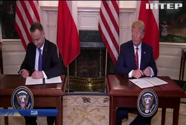 США збільшить свій контингент військовиків у Польщі