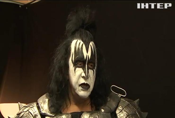 Гурт Kiss прибув до Києва