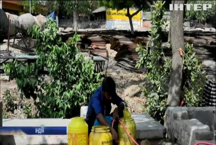 В Індії потерпають від аномальної спеки