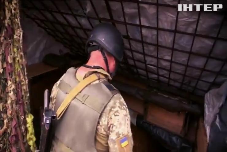 Війна на Донбасі: бійці займаються облаштуванням опорних пунктів