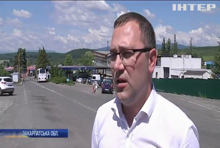 На кордоні зі Словаччиною роками тягнеться реконструкція пункту пропуску