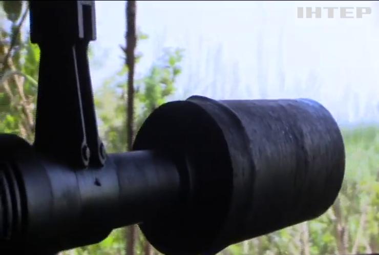 На Донбасі за добу поранило одного військового