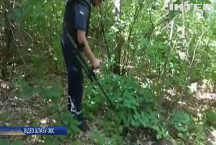 Бійці продовжують звільняти територію Донбасу від вибухонебезпечних предметів