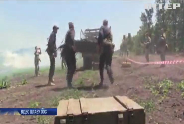 Українські танкісти провели змагання на Донбасі