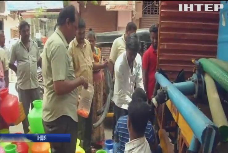 Посуха в Індії: воду почали роздавати по талонах
