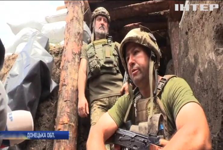 На Донбасі ліквідували ворожих снайперів