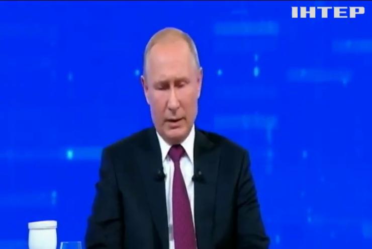 Прес-конференція Путіна: президент Росії назвав Віктора Медведчука ключовою фігурою у питанні визволення полонених українців