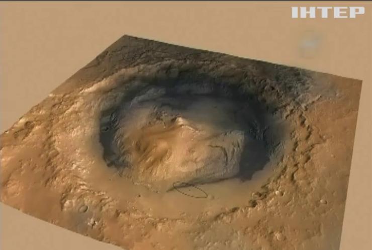 Curiosity знайшов велику кількість метану на Марсі