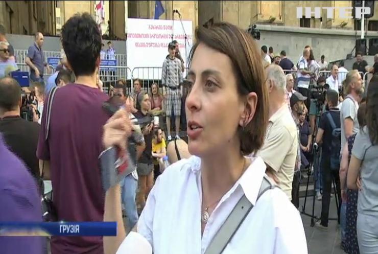 Протести в Грузії: влада погодилась на проведення виборів за пропорційною системою
