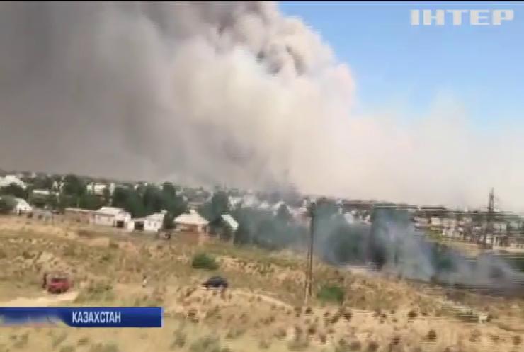 В Казахстані вибухнули склади з боєприпасами