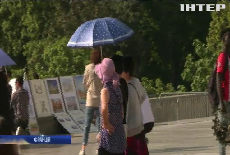На Європу насувається аномальна спека із Сахари