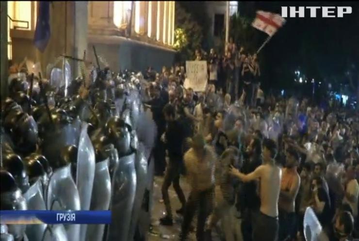 Протести у Грузії: десятьох поліцейських відсторонили від служби