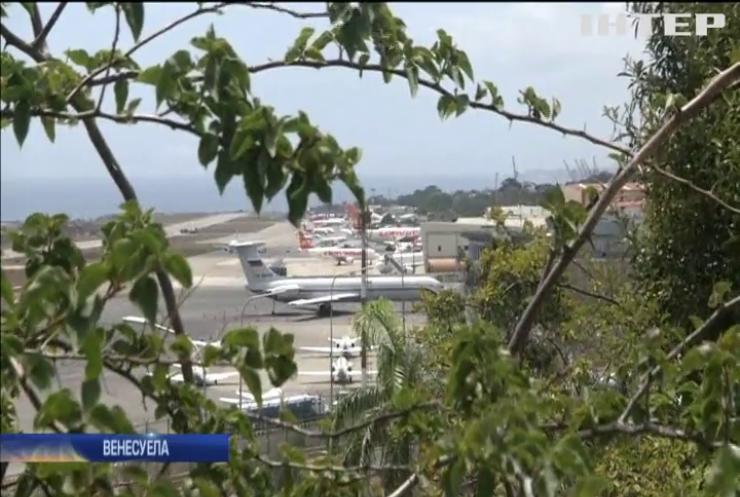 Російський військовий літак приземлився в головному аеропорту Венесуели