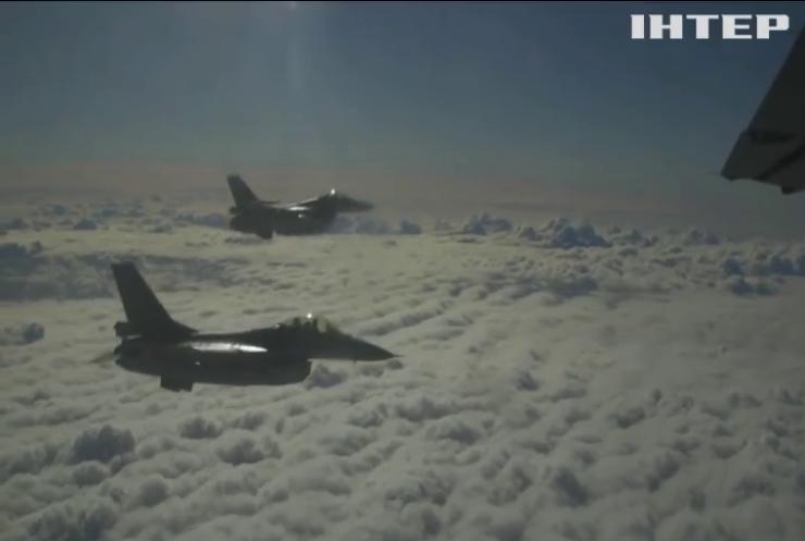 У Балтії почалися навчання військово-повітряних сил НАТО