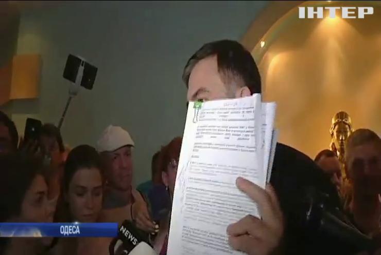 Корупційний скандал: Саакашвілі оприлюднив резонансні документи, щодо мера Одеси Генадія Труханова