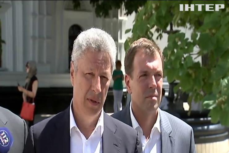 Юрій Бойко привітав Митрополита Київського з ювілеєм