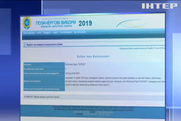 Іво Бобул балатуватиметься на парламентських виборах