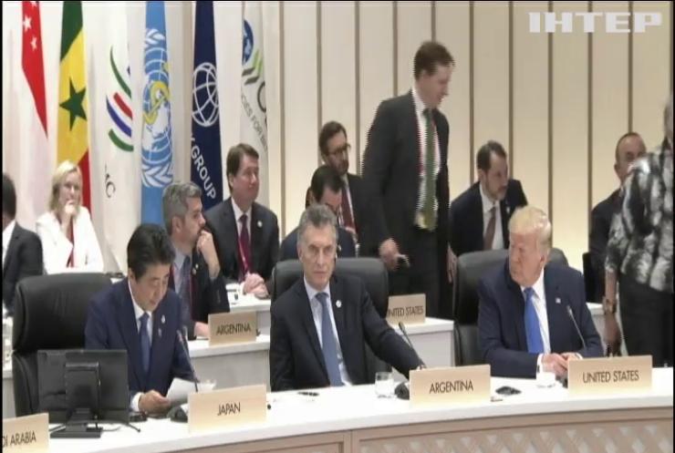 На саміті G20 США та Росія обговорили звільнення українських моряків