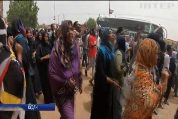 Розгін демонстрації у столиці Судану: загинули люди