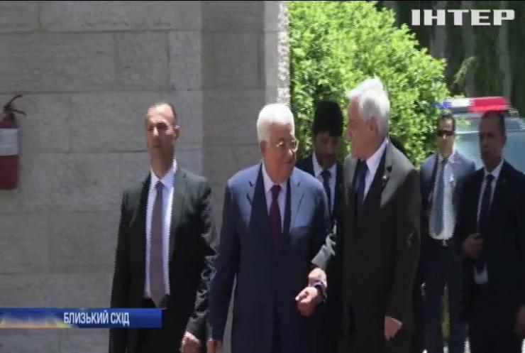 Ізраїльська поліція відпустила з-під арешту палестинського міністра у справах Єрусалиму