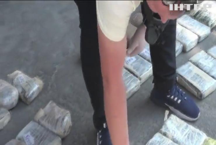 У Києві вилучили рекордну партію кокаїну