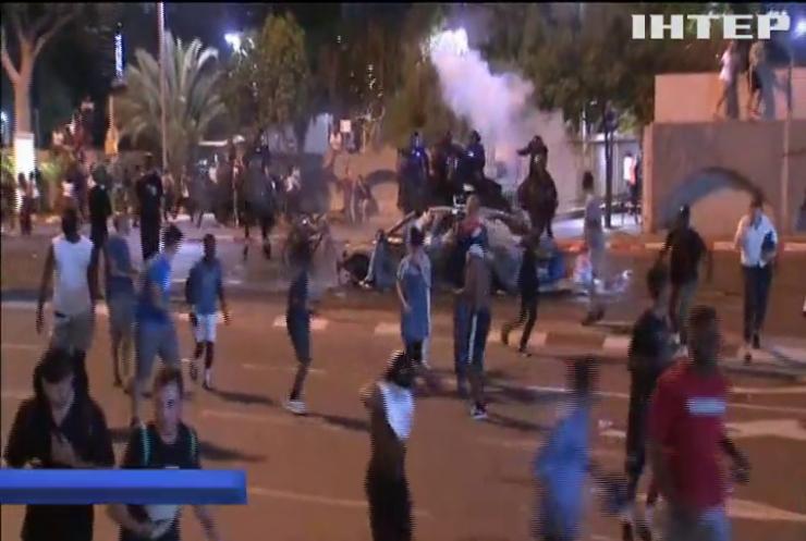 У Ізраїлі вихідці з Ефіопії вийшли на протест