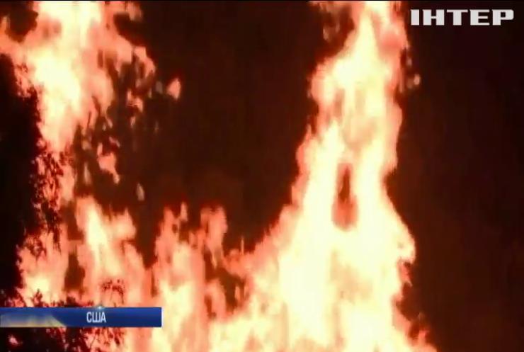 У США згоріли мільйони літрів віскі
