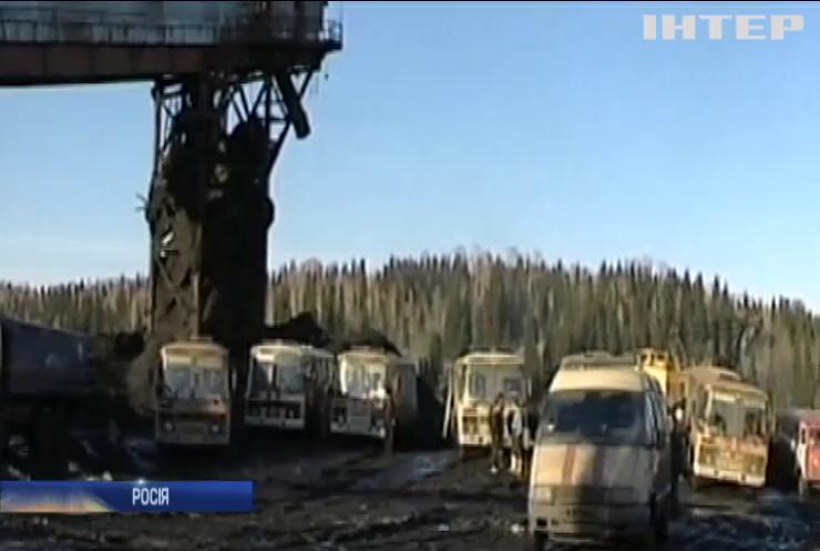 У Росії шахтарів масово відправили у примусові відпустки