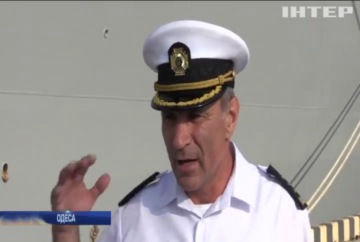 Президент привітав учасників маневрів SeaBreeze-2019 з Днем віськово-морських сил