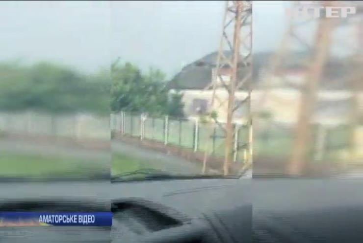 Буревій накоїв лиха на Закарпатті (відео)