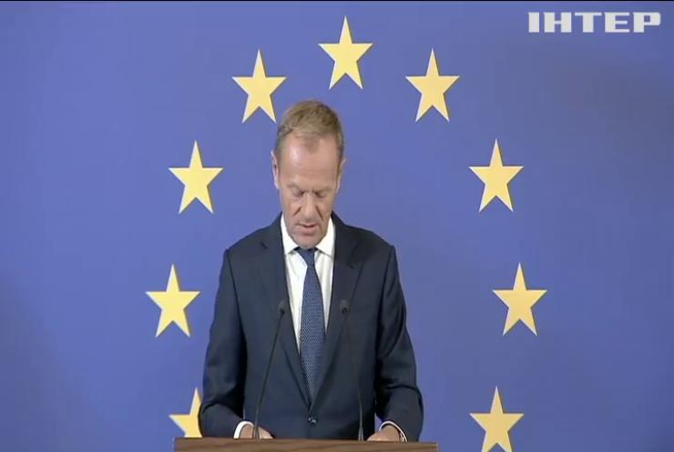 Європейський союз підтримує територіальну цілісність і суверенітет України