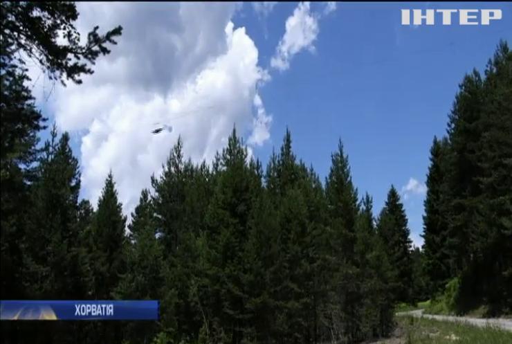 У Хорватії туристів пускають над лісом зі швидкістю 120 км/год