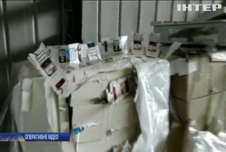 СБУ перекрила канал контрабанди цигарок до Європи