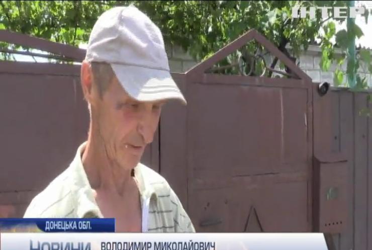Під Мар'їнкою ворожими обстрілами знищено житлові будинки