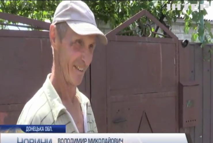 Під Мар'їнкою ворожими обстрілами знищено кілька житлових будинків