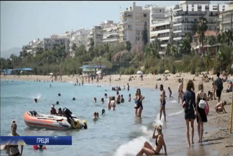Греція потерпає від аномальної спеки