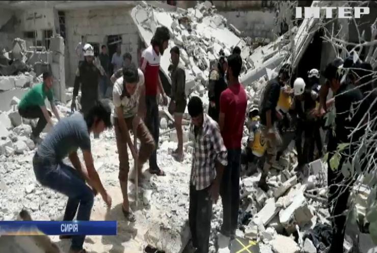 У Сирії від розриву міни загинули діти