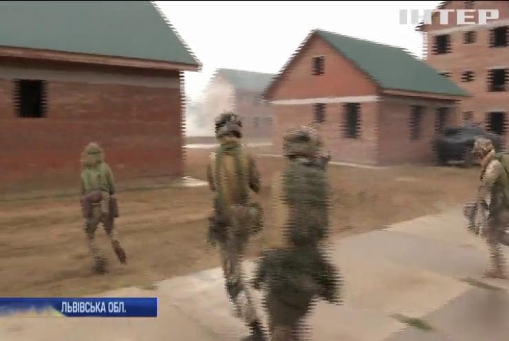 На Яворівському полігоні пройшли навчання військових України та НАТО