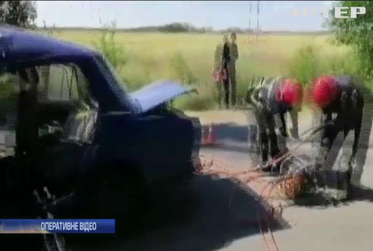 На Миколаївщині розбився авто з дитиною за кермом