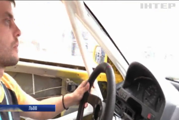 У Львові за підтримки Федерації автослалому України провели масштабне авторалі