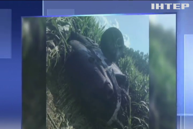 На Сумщині впав гелікоптер-обприскувач полів