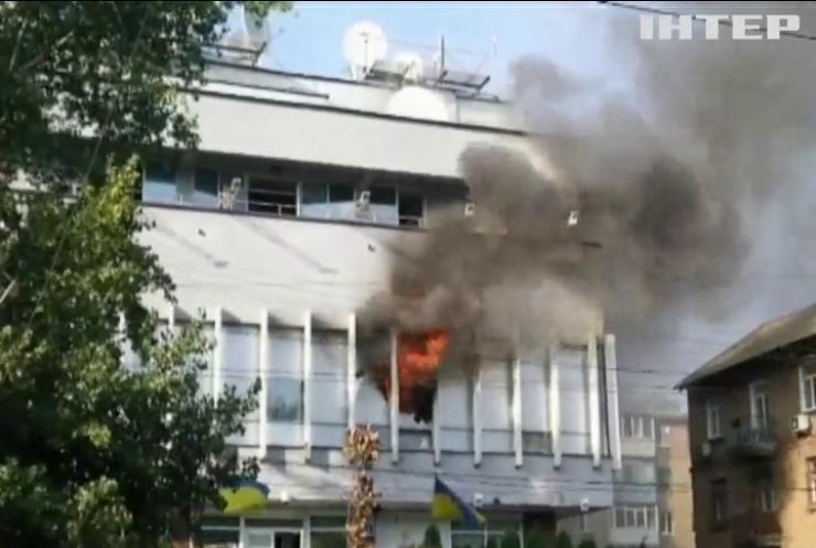"""Обстріл каналу """"112 Україна"""": Юрій Бойко закликає владу розслідувати інцидент"""
