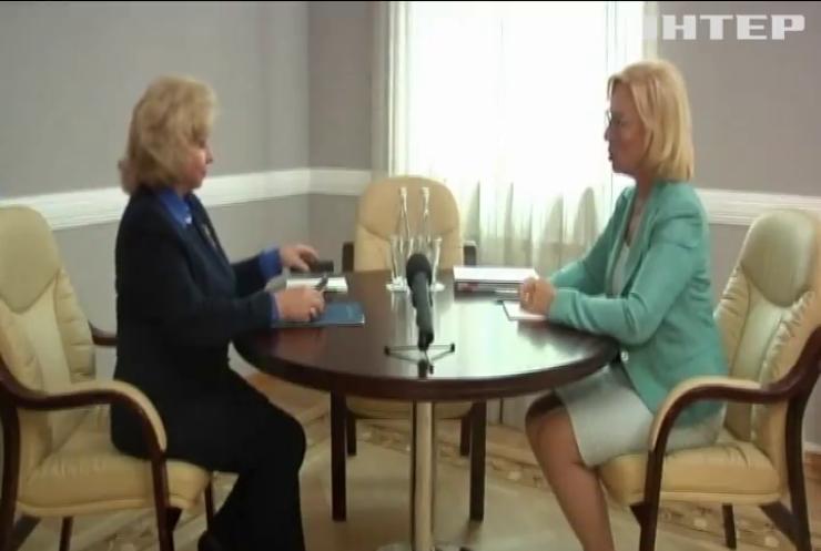 Омбудсмен Людмила Денісова зустрілася із колегою із Росії