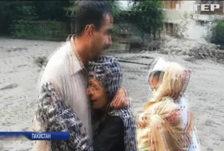 Зливи та паводки у Пакистані: загинули люди
